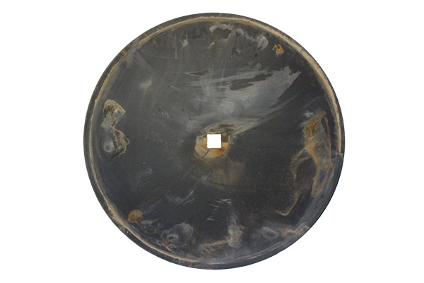 """18"""" x 4.00mm - Notched Disc Blade - 7/8"""" Sq. Axle & 1"""" Rd. Axle"""