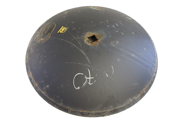 """20"""" x 4.00mm - Notched Disc Blade - 1.1/8"""" Sq. Axle & 1.1/4"""" Rd. Axle"""