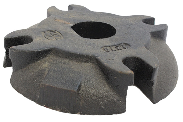 Furrow filler axle washer 4 hole 1 3/4""