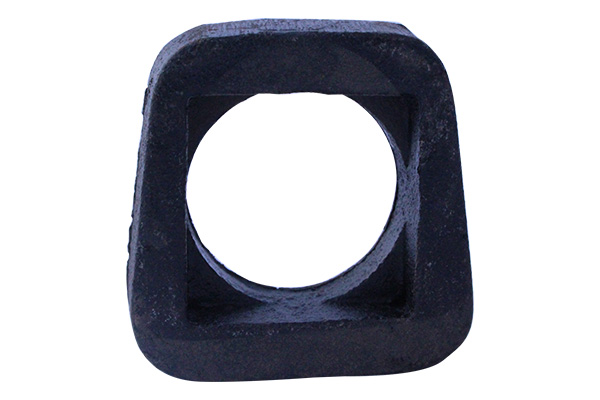 Square hole washer