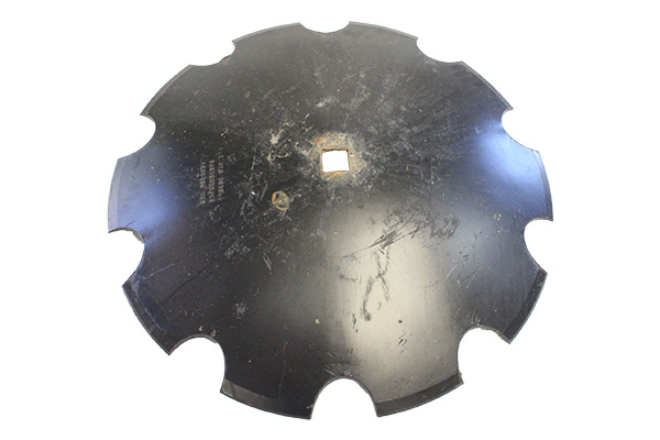 """24"""" x 4.75mm - Notched Disc Blade -1.1/2"""" Sq. Axle"""