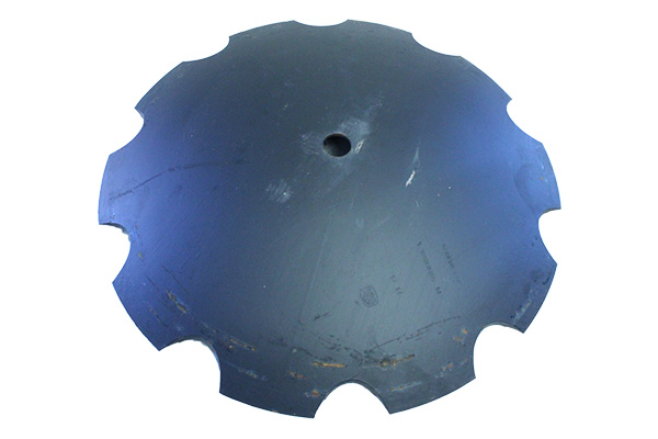 "32"" x 900mm - Notched Disc Blade -21/8"" Rd Axle W/ Rome dimples / 362"" Shallow concavity"