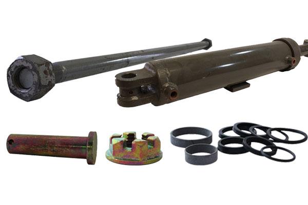 """Hydraulic Cylinder, 2.0"""" x 4"""" x 20.27"""" x 8""""  2240 bushing"""