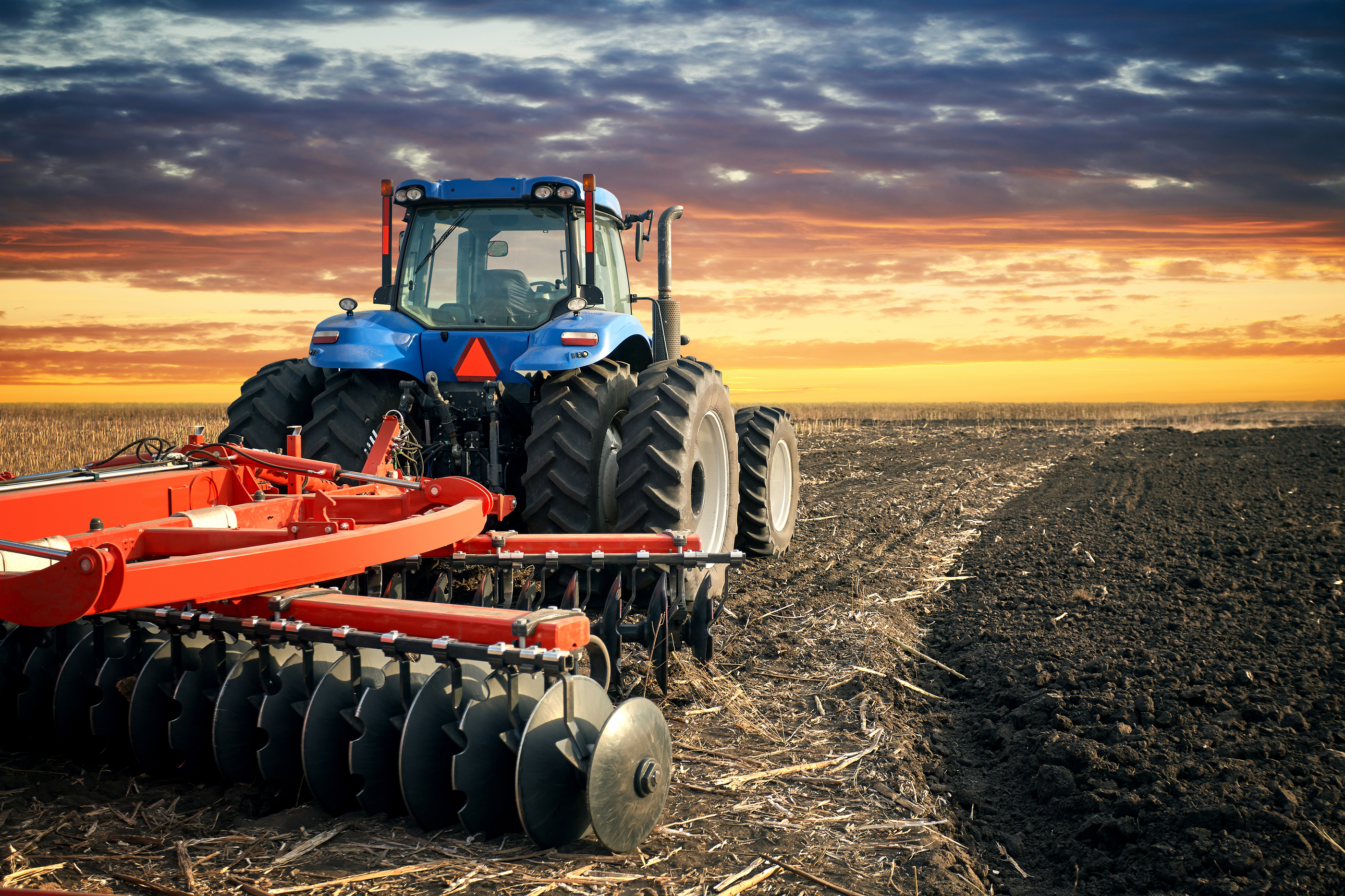 Tractor Use in Agriculture - Gonzales Equipment Sales Inc.